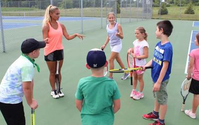 Program aims to build interest in tennis