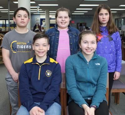 Students of Month honored at CMS