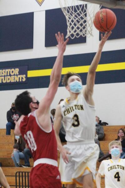 Blake Biese's career night leads Chilton past New Holstein in boys basketball