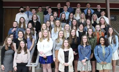New Holstein High School welcomes new National Honor Society members
