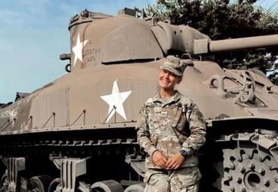 Chilton native Courtney Knaus featured as part of River Falls ROTC