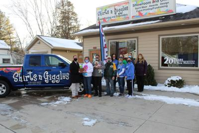 Apparel, cookies, and pizza: Shirts n Giggles back in New Holstein
