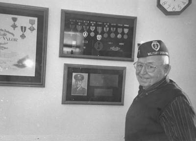 Mand helped fight off enemy on Okinawa