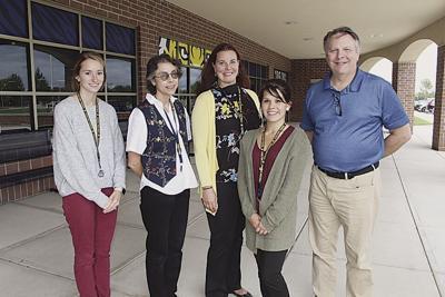New school staff members introduced
