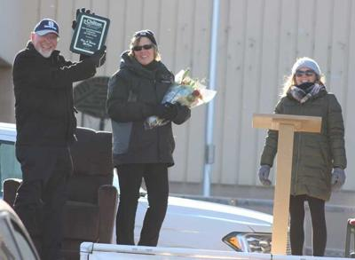 McKeens honored at outdoor event