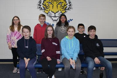 Chilton Middle School lists January Students of the Month