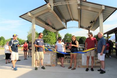 Woelfel Grill Haus dedicated at Chilton's Nennig Park