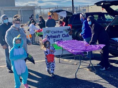 Trunk and Treat held