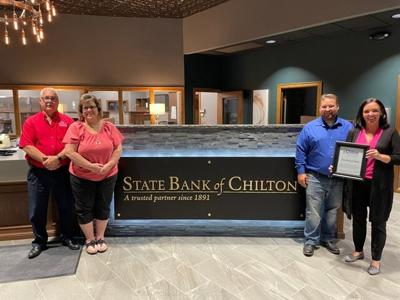 Redecorating done at State Bank