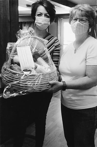 """Hair's To You """"Win Away the COVID Blues"""" basket"""