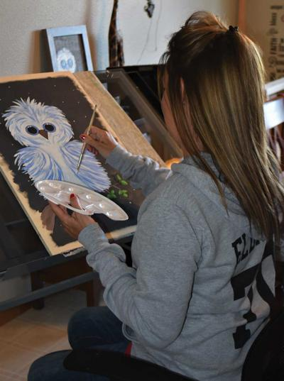 Surgery triggers woman's need to paint