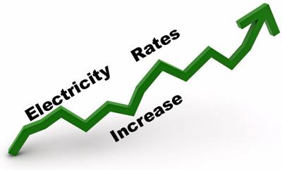 Utilities files for rate hike