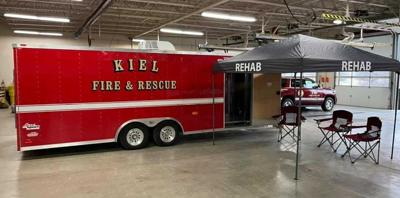 Kiel Fire Department received a donation from Sargento and matching funds from their employees