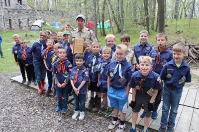 Kiel's Mark Manz honored with prestigious awards from Boy Scouts