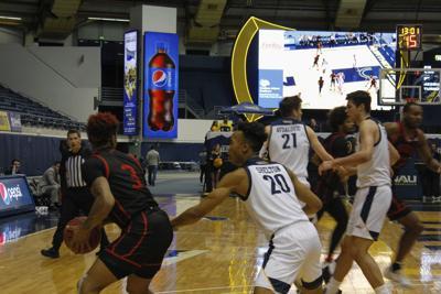 NAU men's basketball defeats Southern Utah, 82-69