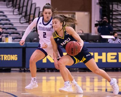 NAU WBB complete sweep of Weber State after Saturday affair