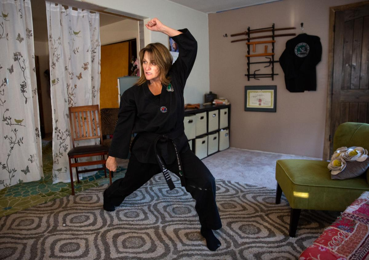 Self-defense classes throw a punch at danger