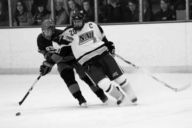 Nau Ice Jacks Beat Metro State In Two Games Defeat Oregon Sports