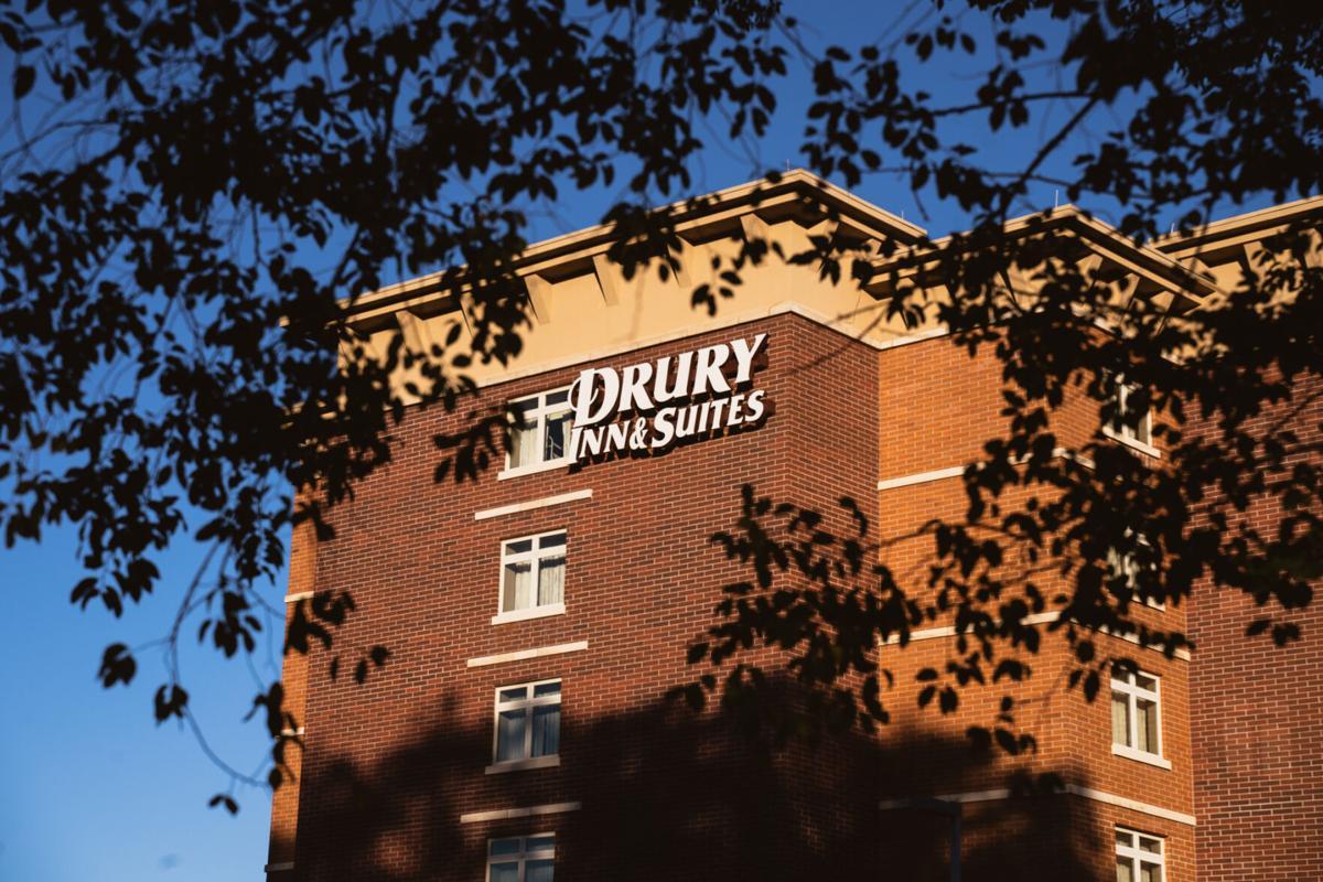 Quarantining in Drury Inn and Suites