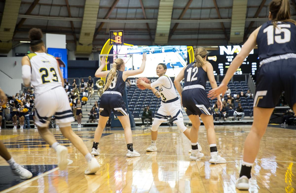 NAU's Jacey Bailey carries women's basketball to victory