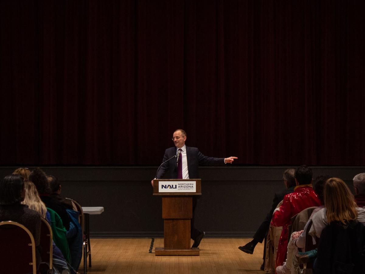 John Sisko visits NAU as a candidate for dean of CAL