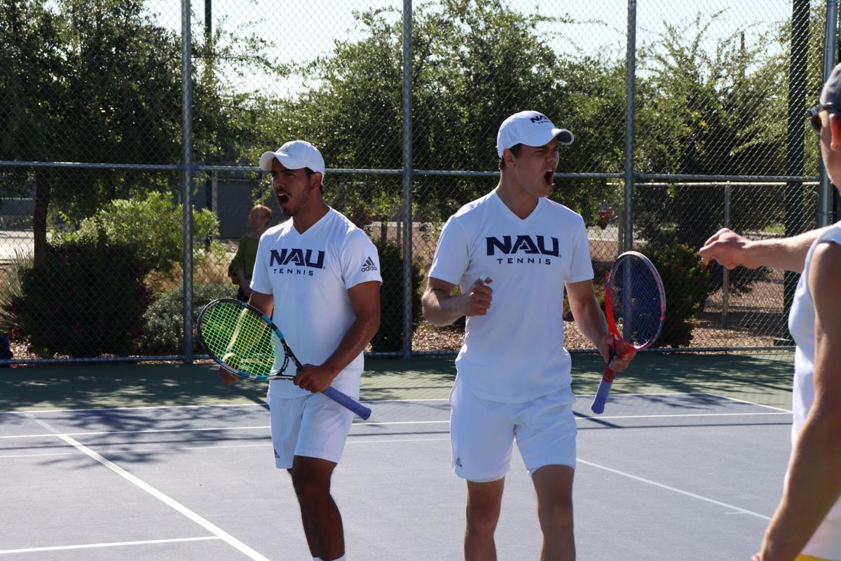 Men and women's tennis: dual champions of Big Sky