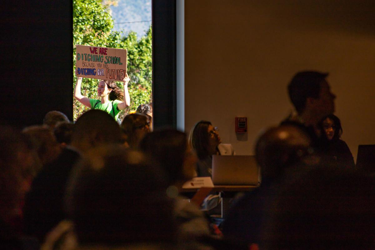 ABOR meeting covers a wide range of topics and gets interrupted by protesters