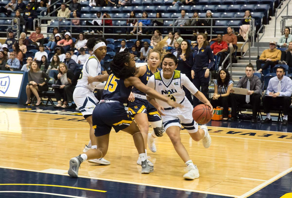 Women's basketball extends their win streak to three heading into the Big Sky tournament