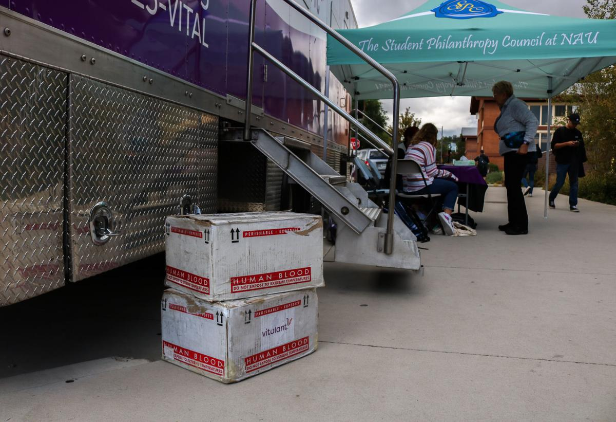 Campus blood drive helps replenish depleted supply