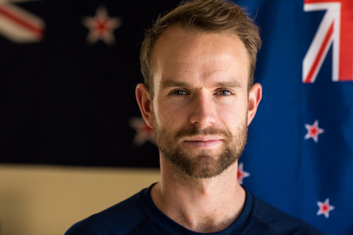 Matt Baxter returning home after running the globe