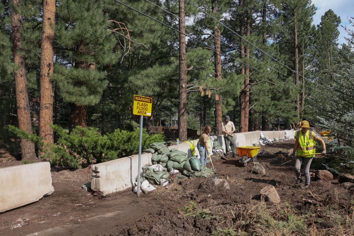 Monsoon floods force Flagstaff to find solutions