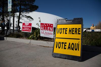 Voters hit the polls for Midterms