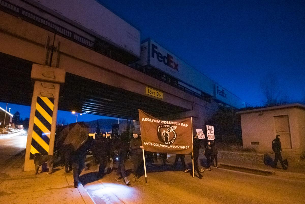 Gallery: Police brutality protest weaves through Flagstaff