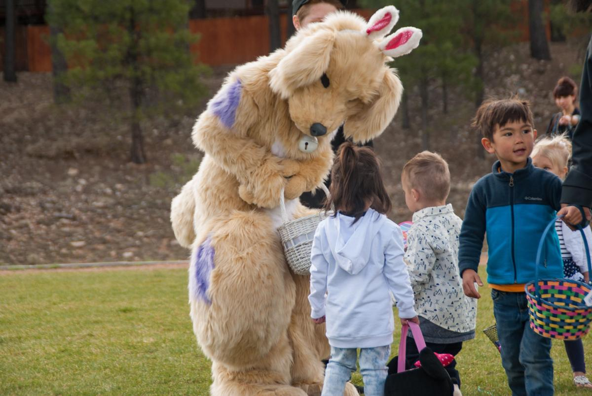 Easter Egg Hunt at Ponderosa Park