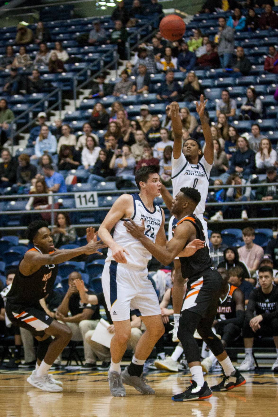 NAU basketball loses second straight in 71-67 loss to Idaho State