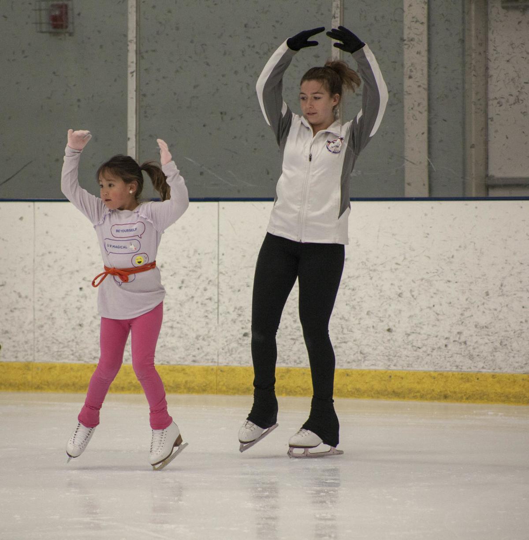 Figure Skating in Flag