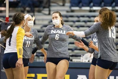 NAU fights off Eastern Washington to complete season sweep