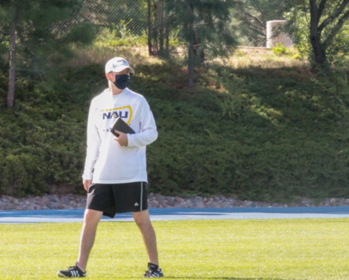 Taylor Spradling brings new perspective to NAU soccer