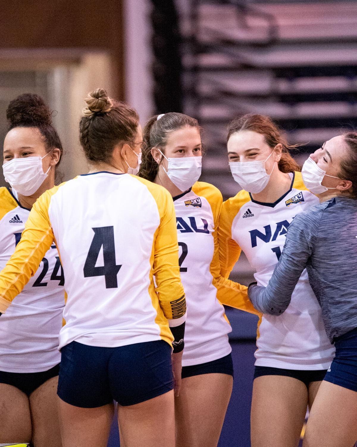NAU volleyball beats undefeated Weber State, 3-1