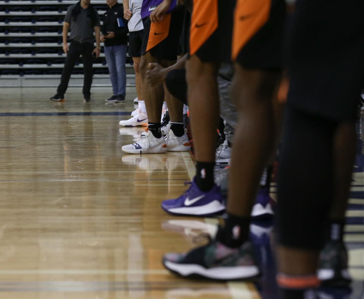 The Phoenix Suns are back for training camp