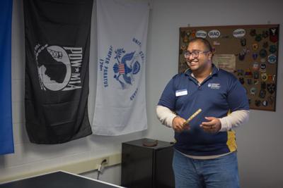 The pen over the sword: veterans in education