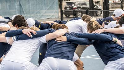 Men's tennis dominates Big Sky Conference