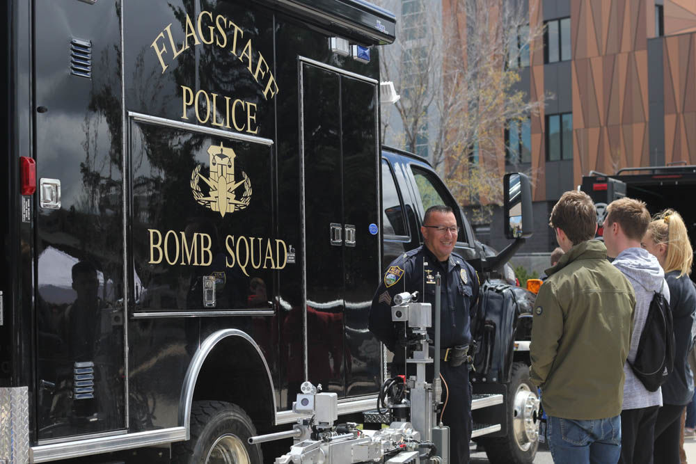 Annual Public Safety fair held at the Union