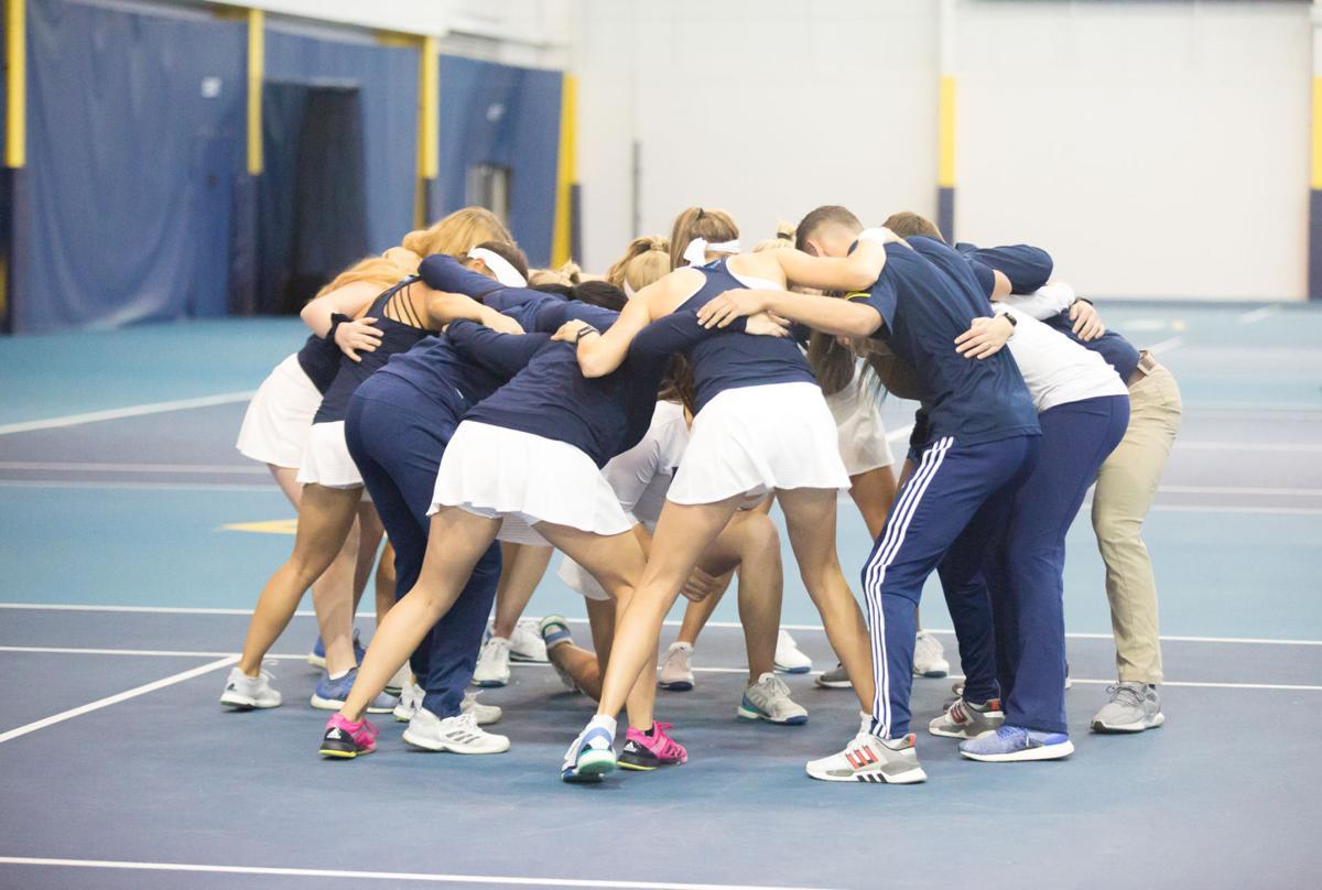 Women's tennis has strong start, scrapes past Idaho
