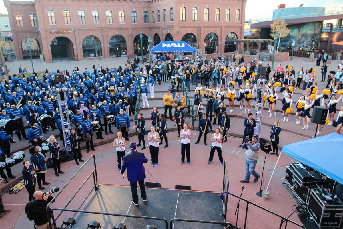 Downtown Pep Rally