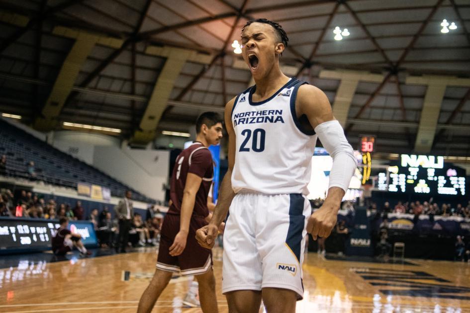 NAU upsets Big Sky leader Montana 57-56