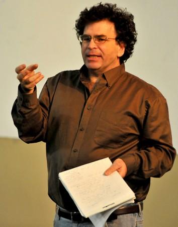 Speaker addresses human capacity to realize change