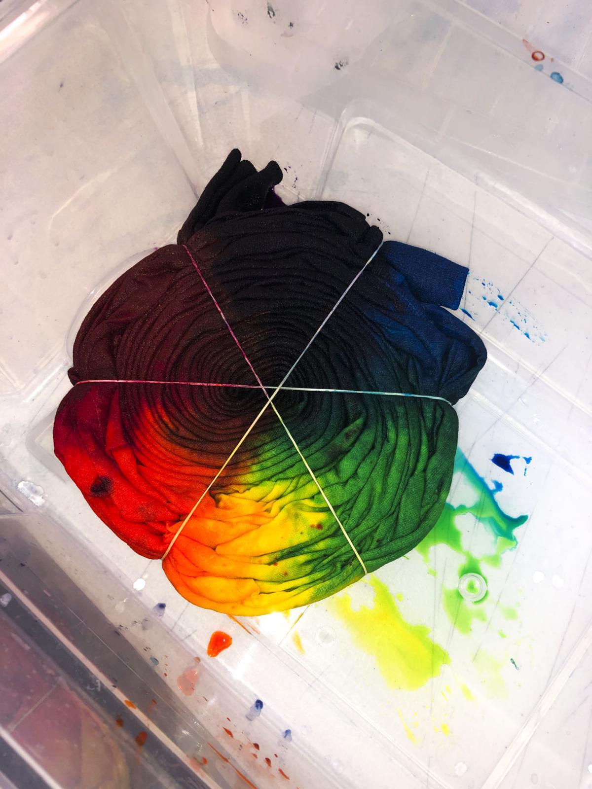 Flagstaff's resident tie-dyer