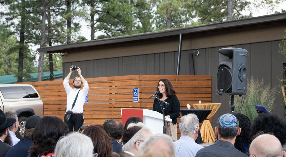 Jewish community center breaks ground