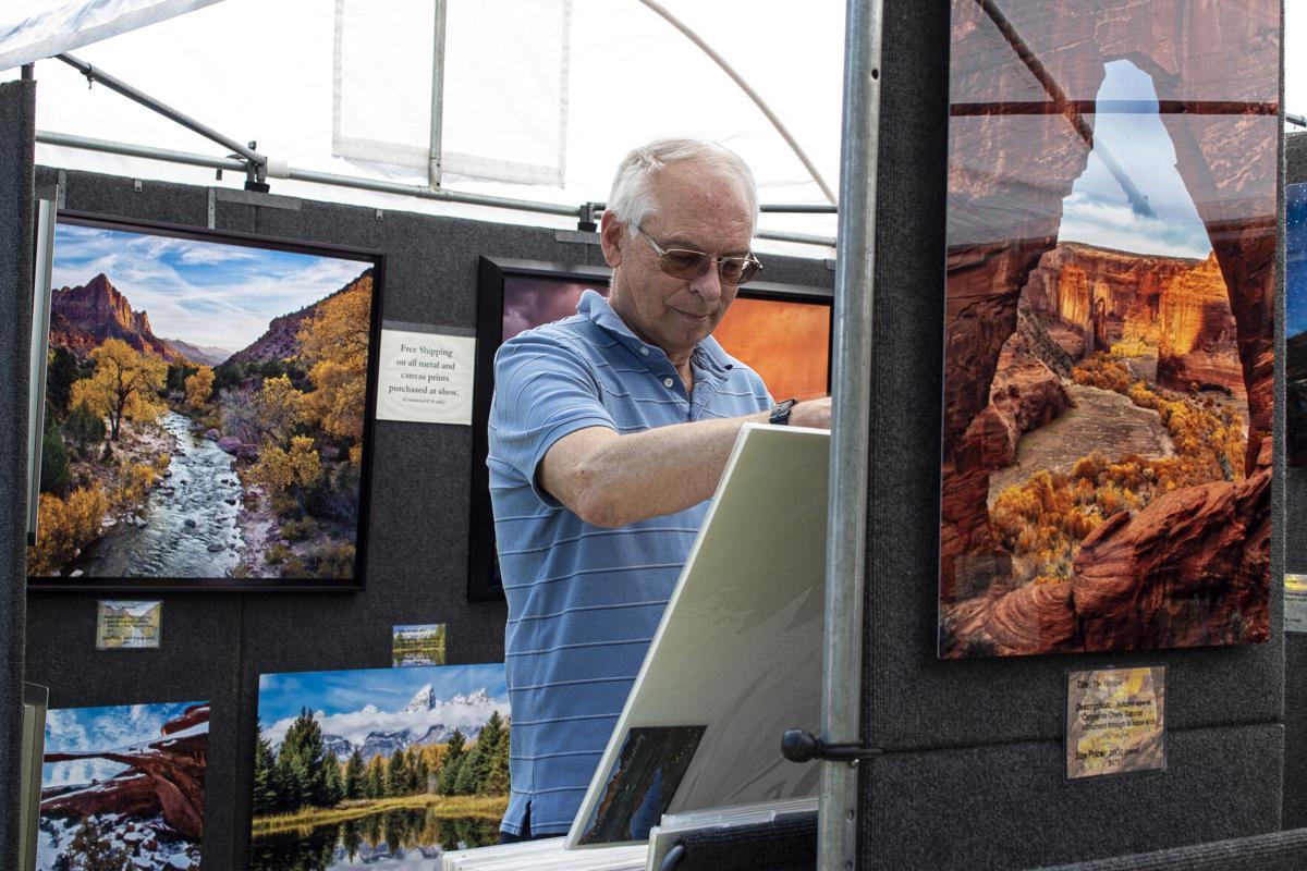 Downtown Flagstaff's park of art